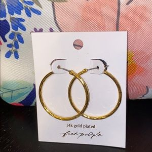 Free people Pick your Charm twist 14k gold plated